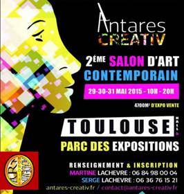 AFFICHE ANTARES CREATIV-TOULOUSE